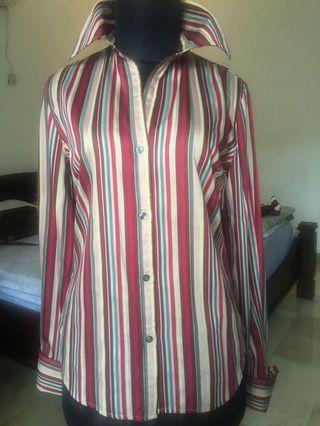 SlimFit office blouse, blus kerja kantor