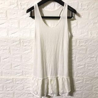 純白背心襯裙