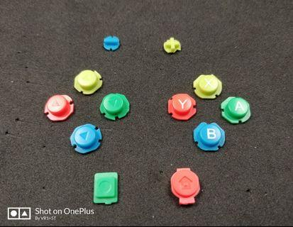 🎮 NS Coloured Joycon Buttons (12pcs Full Set) + Installation