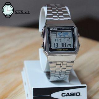 Casio Standard World Time Watch Series A500WA1DF