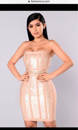 Brand new! Fashionnova Bandage Dress