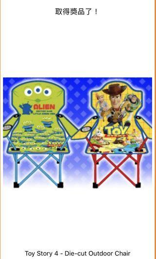 Toy Story 4 户外摺椅