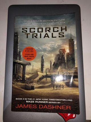 Maze runner : the scorch trials book
