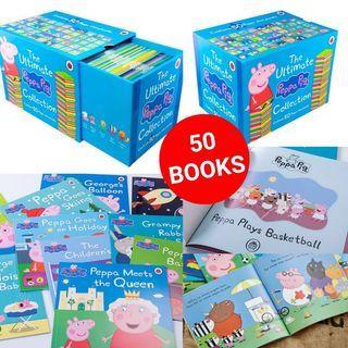 Peppa Pig英文圖書大合輯 (50本)