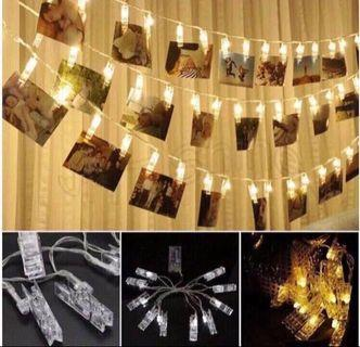 LED peg Fairy Lights