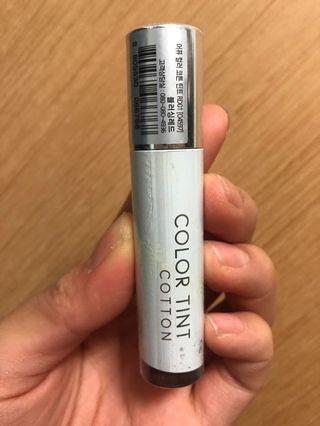 韓國 A'PIEU - COLOR COTTON TINT 棉花絲絨霧面唇釉 RD01
