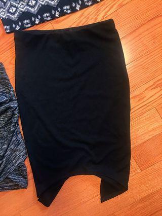 SIRENS Black Pencil Skirt