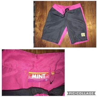 Mint board shorts