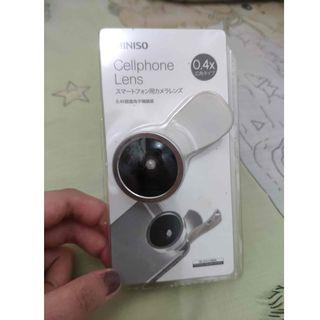 Miniso Wide Lens for Smartphone attachment Original Cellphone lens 0.4x Fisheye