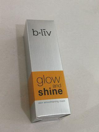 B.liv Glow and Shine skin smoothening mask