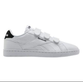 Reebok Classics Royal Complete Velcro Shoes Sneakers White Black