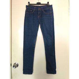 Brand New Mid Rise Skinny Denim Jeans 全身中腰修身牛仔褲