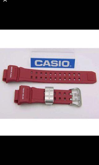 100% Authentic new sealed Casio G-Shock Men in Rescue Red Rangeman GW-9400RD-4 Watch Band strap rare
