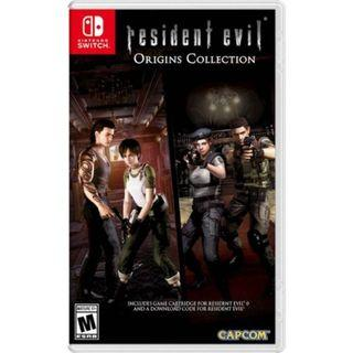 READY STOCK! [US ENG] Resident Evil Origins Collection Nintendo Switch