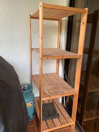 IKEA Gorm Wooden Rack - $15
