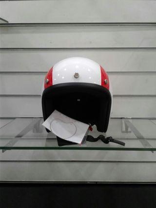Original vespa Italian flag helmet