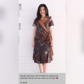 Dxf Batik Cap Dress