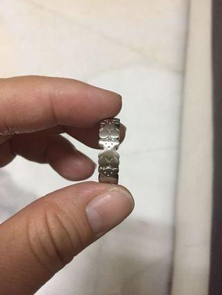 Tous Stainless Steel Ring (Not authentic)