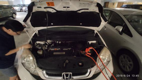 Jumpstart car and motorcycle service