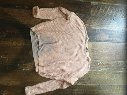 Light pink brandy Melville sweater