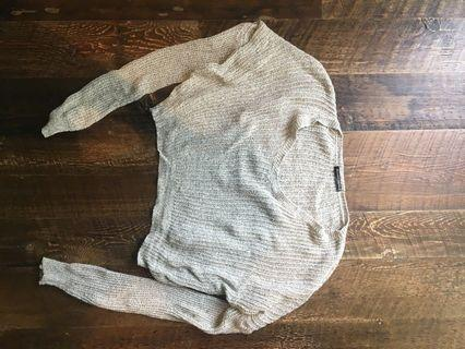 Cropped brandy Melville sweater