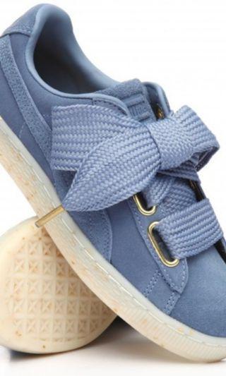 Sepatu puma suede heart celebrate infinity
