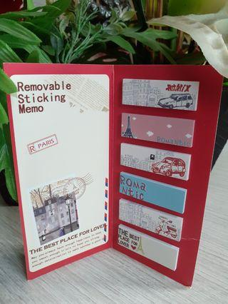 [NEW] REMOVABLE STICKY NOTES