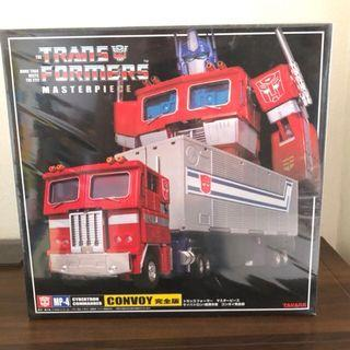 🚚 Vintage TakaraTomy Masterpiece Optimus Prime MP-4 Convoy with Trailer (MISB)