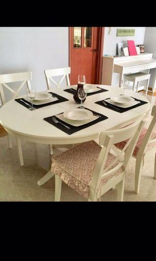 Dining Table Extendable - till end of Jul