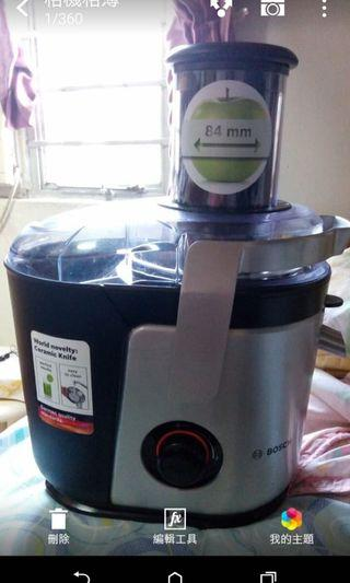 Bosch Vita Juice 4 榨汁機