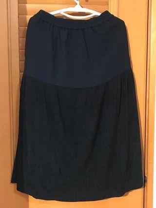 initial navy色裙3碼