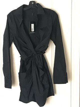 PRETTY LITTLE THING DRESS SHIRT
