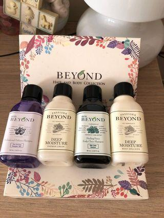 🚚 Beyond Hair and Body Collection Travel Kit