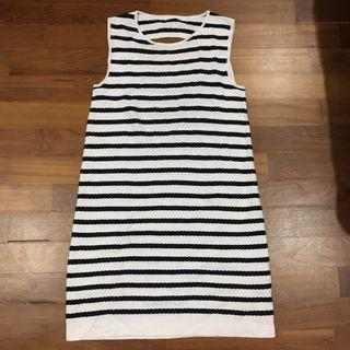 Stripe sexy back  Dress #JunePayDay60