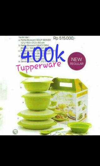 Tupperware set bloosom