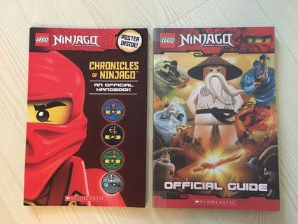 Lego Ninjago Official Guide & Chronicles (Great way to spend your summer)