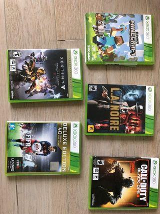 🚚 Used Xbox 360 games