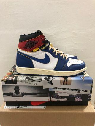 Union Air Jordan 1 Storm Blue