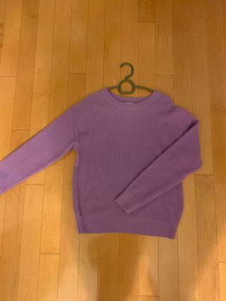 Uniqlo Purple Sweater