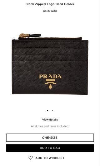 1625c694 prada card holder box | Luxury | Carousell Singapore