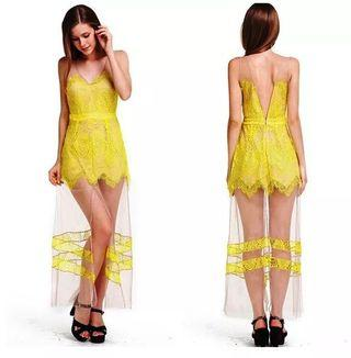 🚚 Yellow Mustard Dress