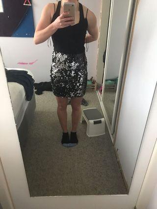 Boo hoo sequin dress
