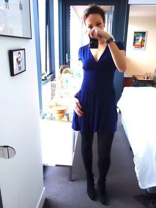 Maje Dress, Blue, Size 8