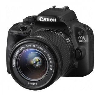 Canon 100d body with kit lens