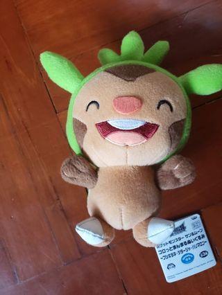 寶可夢公仔#寵物小精靈#Pokemon#哈力粟#哈力馬龍#Chespin