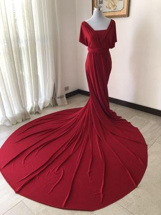 Love C Infinity Gown with Long Train