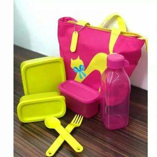 Tupperware cosmo lady set