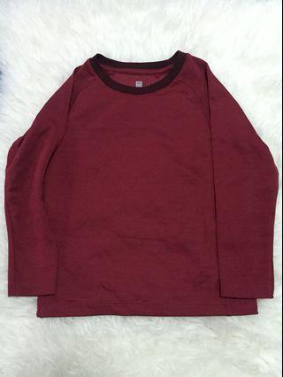 Uniqlo long sleeves 4-6y