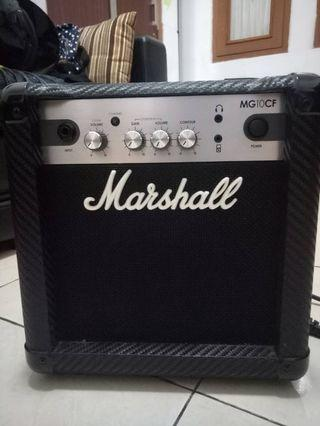 Amplifier marshall MG10CF #maudandan