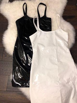 Latex bodycon dresses